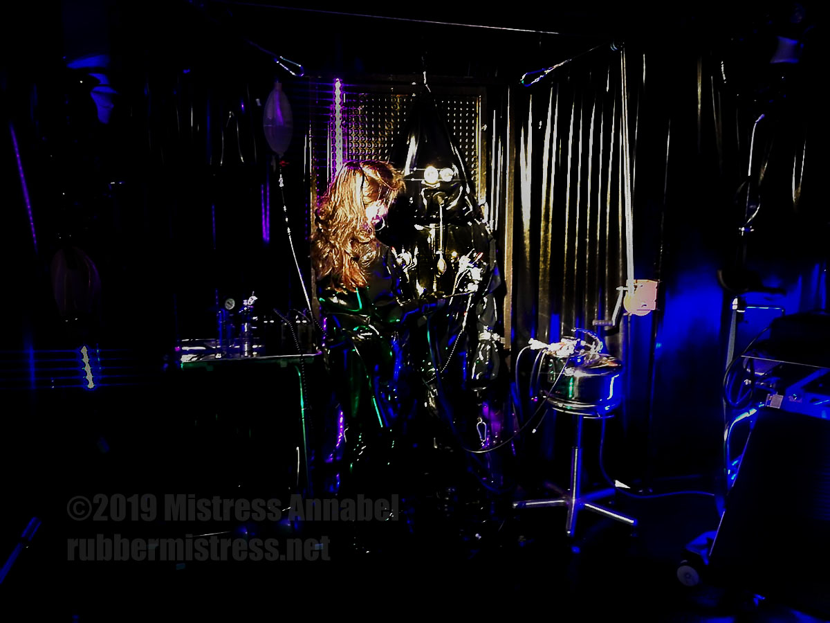 Serious Kit suits mark 1 and 2, plus Serious kit hoods at London Rubber Studio.